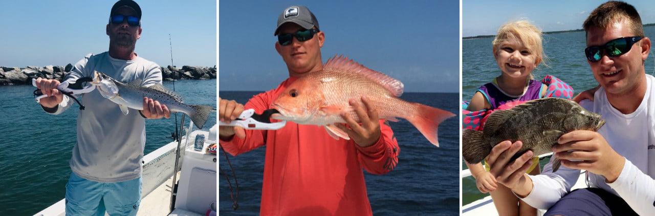 Captain Jared Fishing in Apalachicola
