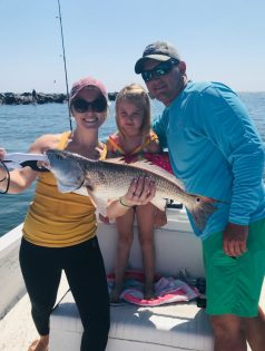 Family Fishing fun in Apalachicola